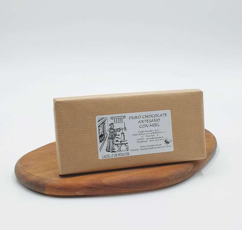 Tableta de chocolate con miel. Compra Online chocolate Castillo de Peñalver