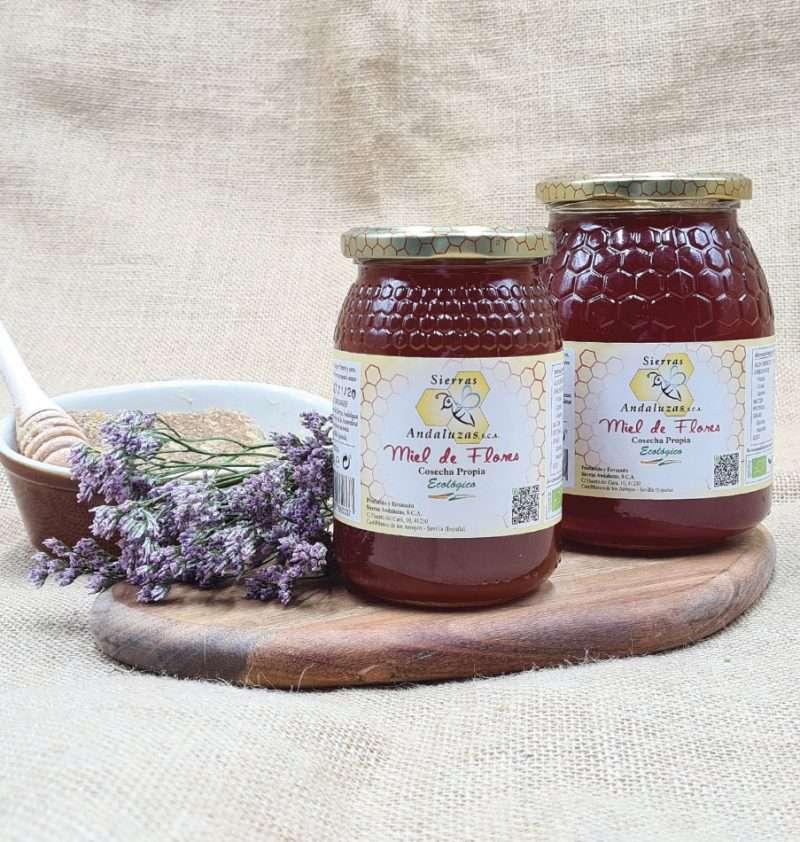 Miel ecológica cruda de Andalucía. Compra Online tu miel ecológica hecha en España. Directamente del productor.