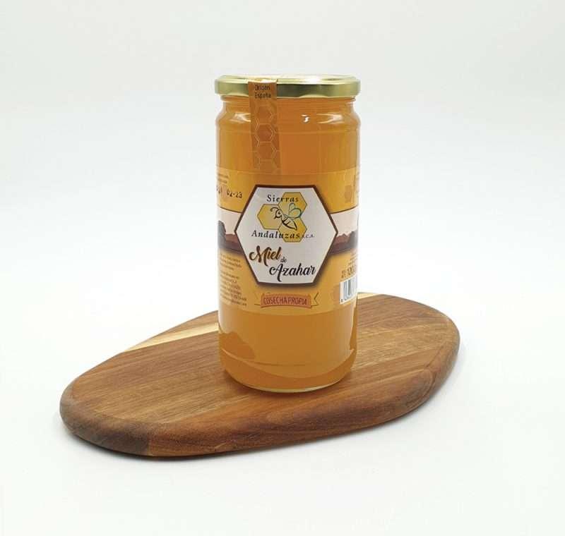 Miel de Azahar hecha en España. Miel cruda de azahar de Sierras Andaluzas. Compra Online en nuestra tienda.