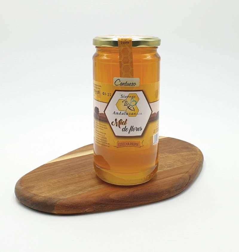 Miel de Cantahueso (Lavanda) hecha en España. Miel cruda de cantahueso de Sierras Andaluzas. Compra Online en nuestra tienda.