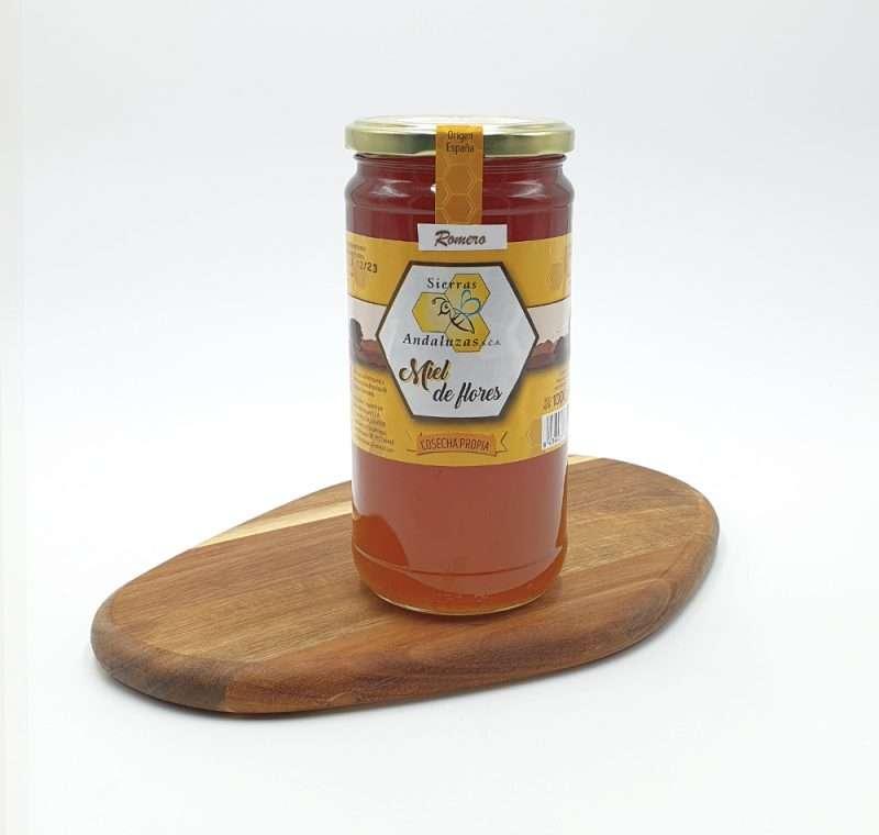 Miel de Romero hecha en España. Miel cruda de romero de Sierras Andaluzas. Compra Online en nuestra tienda.