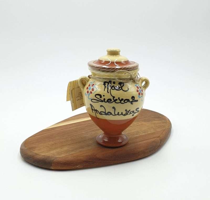 Miel de Flores de Sierras Andaluzas. Tinaja de barro.