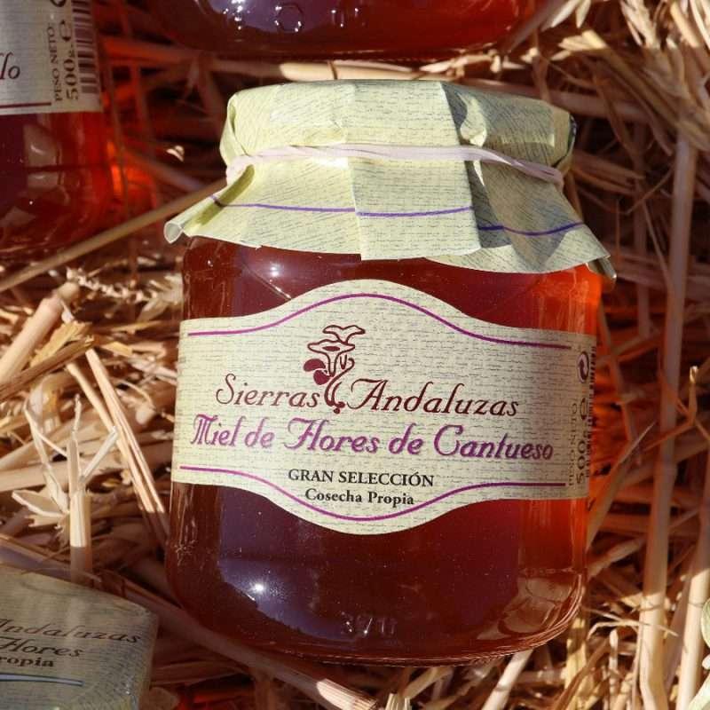 Compra Online Miel de Cantahueso Cruda hecha en España. Sierras Andaluzas.